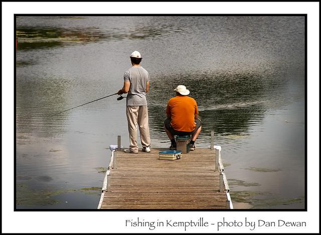 Fishing in Kemptville 190/365