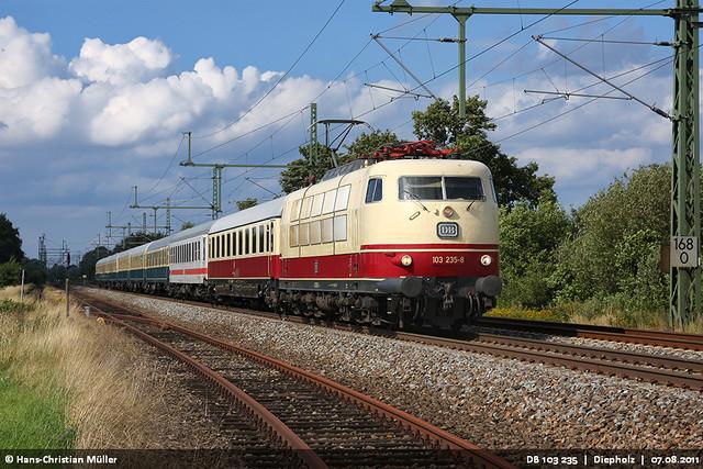 DB 103 235 bei Diepholz #6321