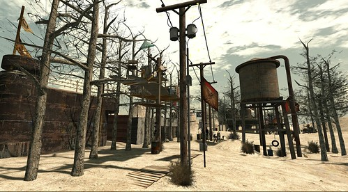 The Wastelands, Post Apocalypse in SL : Fort Stygian - liqueur.felix