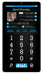 The Smartphone UI Concept - Call screen
