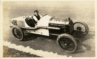 Auto Racer Jimmie Costa (MSA)