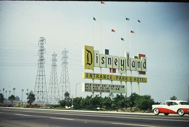 Disneyland in the 50's