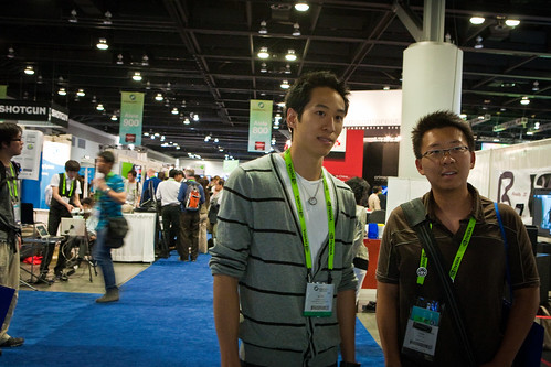 Alvin Keung Presents His Work at SIGGRAPH
