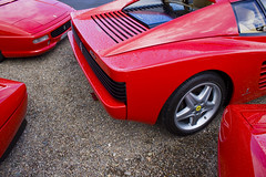 race car, automobile, wheel, vehicle, automotive design, ferrari 348, ferrari testarossa, ferrari s.p.a., land vehicle, luxury vehicle, supercar, sports car,