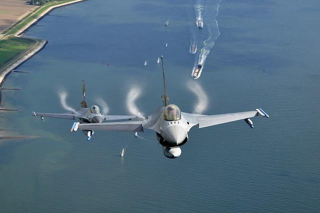 Dutch Air Force F 16's