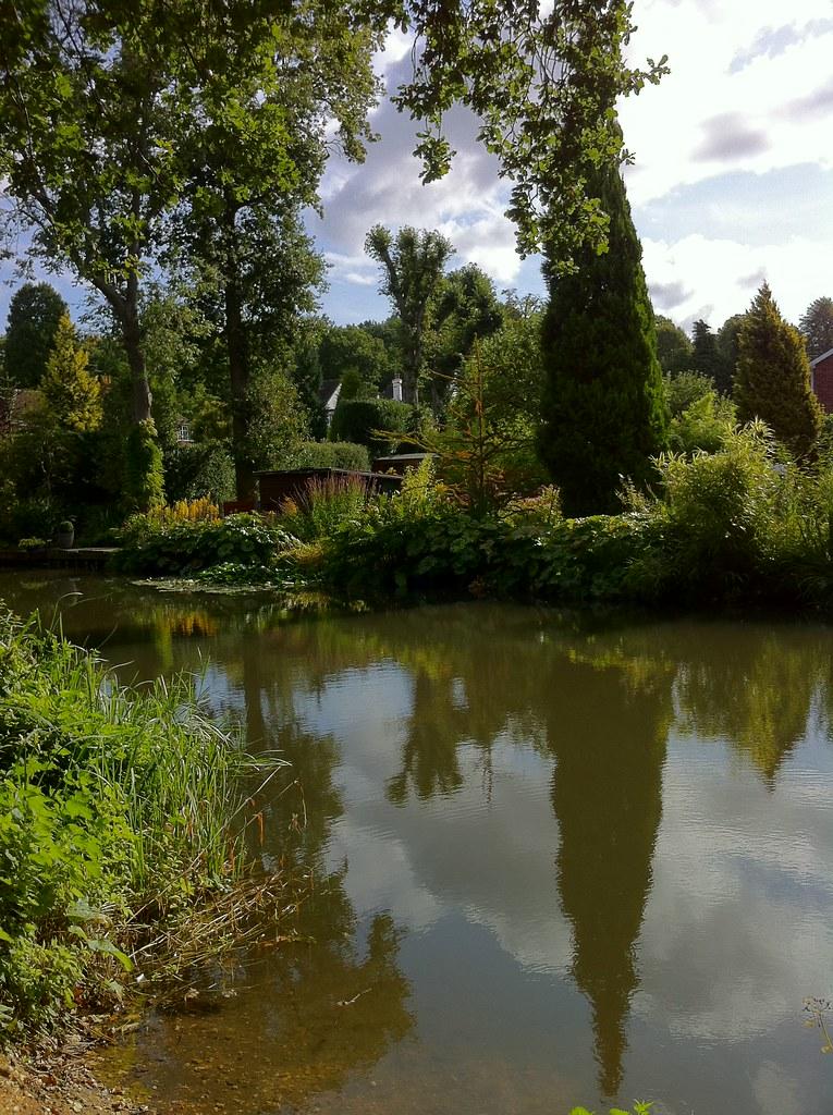 Basingstoke Canal Ash Vale reflections