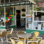 Fish and chip shop at Llandudno