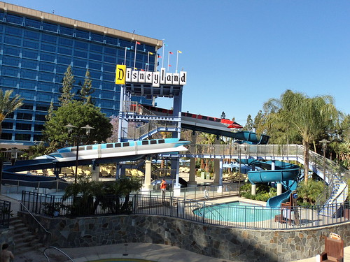 Disneyland Hotel swimming pool