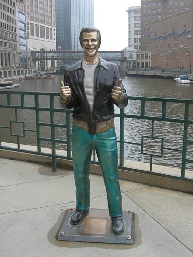 """The Fonz"" Statue"