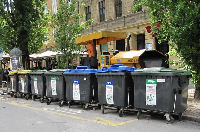 Kierrätys Recycling in Ljubljana