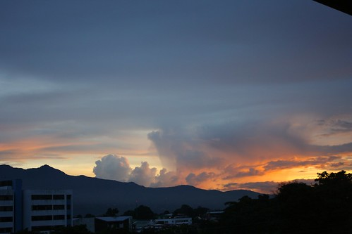 costarica sanjose sanpedro studyabroad clouds mountains sunset canonefs1855mmf3556is canoneosrebelxs