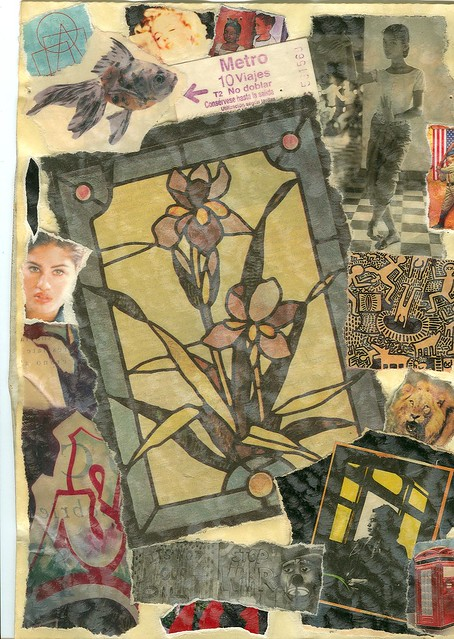 collage-con ROSA PARKS in mente