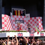 2011 British Grand Prix: Silverstone - Podium (2)