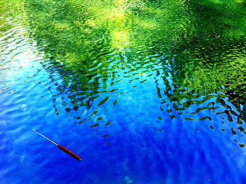 Ripples in the Water - #Iphoneography #dufferinislands #dynamiclight