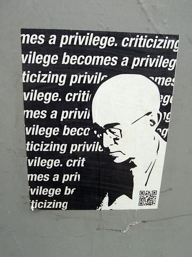 critizing privilege