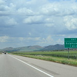 northbound I-15 at Sulphurdale – 1 mi to exit 129