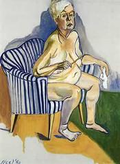 Alice Neel -self-portrait, 1980