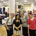 At Macy NY, met my readers!