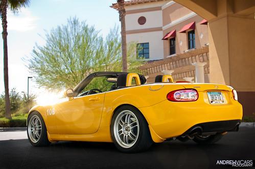 arizona orange yellow composite 35mm photography nikon az lensflare mazda epic mx5 d40 werm drifto worldcars andrewvicars