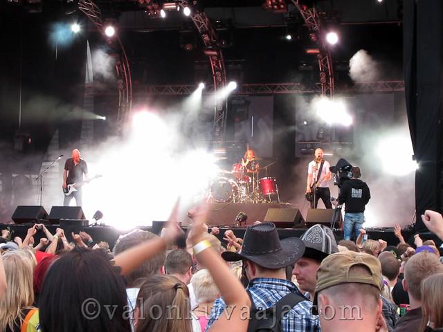 Ilosaarirock 2011 - Apulanta