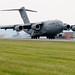 C-17 Globemaster III lands at N.Y. Guard base