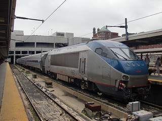 Amtrak Bombardier HHP-8 662 at South Station