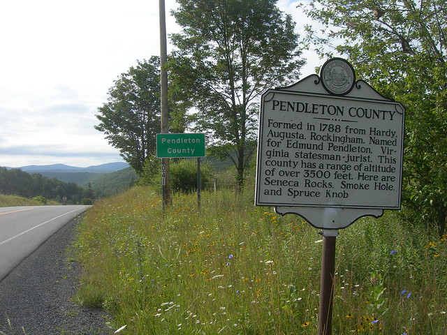 pendleton county signs