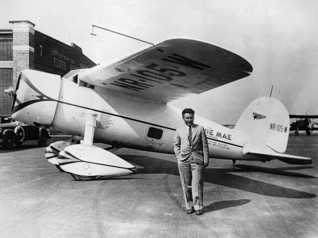 Lockheed Vega 5B 'Winnie Mae of Oklahoma'. Wiley Post
