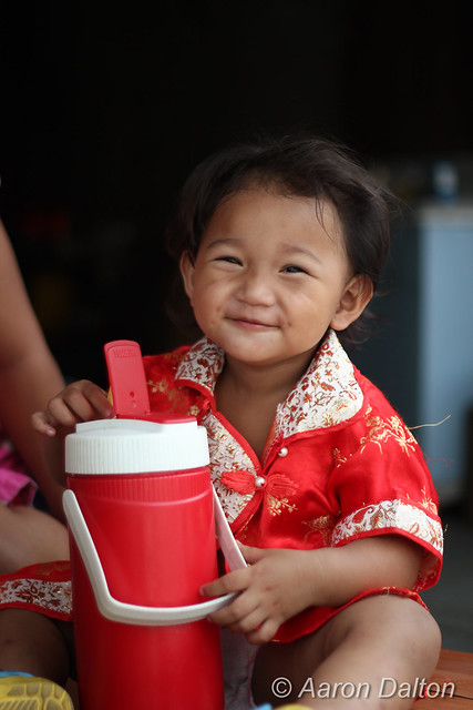 Thai Toddler Grin