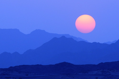 blue sunset wild sky orange sun mountain nature yellow landscape nikon down lovely