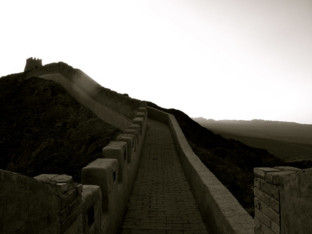 The Great Wall at Jaiyuguan