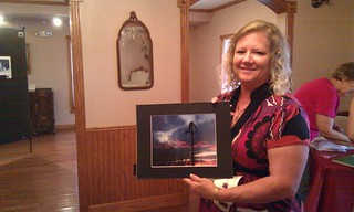 Teresa James brought great pics for Alva's photo show #pmw2011
