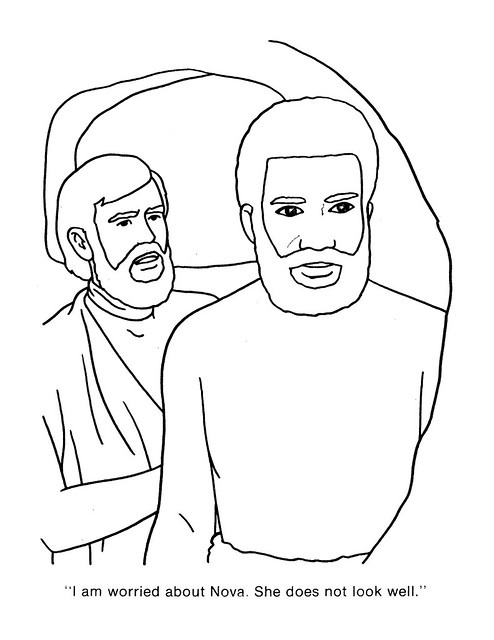 Planet of the Apes Coloring Book 0200029