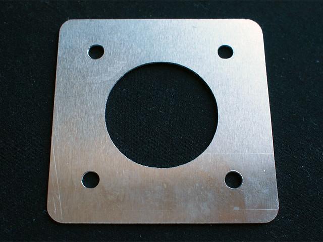 Who is nema for Nema 23 motor mount plate