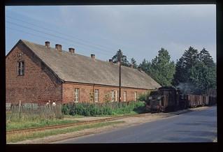 77. Px48 1739 auf dem Schmalspur Eisenbahnnetz Koło-Kutno. PKP.