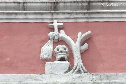 Insignias de San Jerónimo- Templo Conventual de San Jerónimo   -Puebla - México
