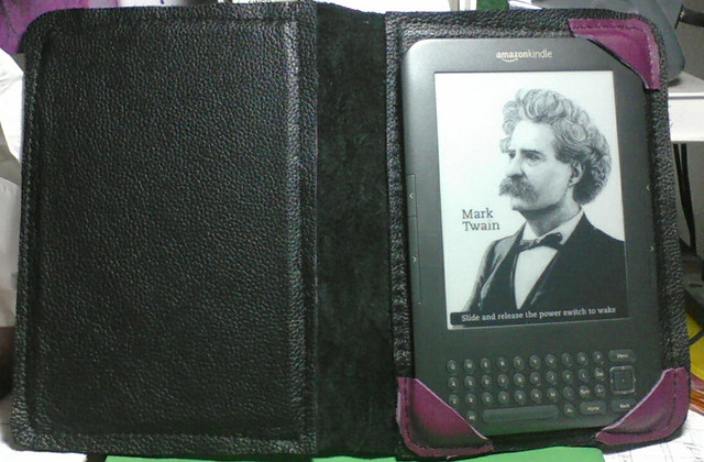 Aphro's Kindle Cover - open
