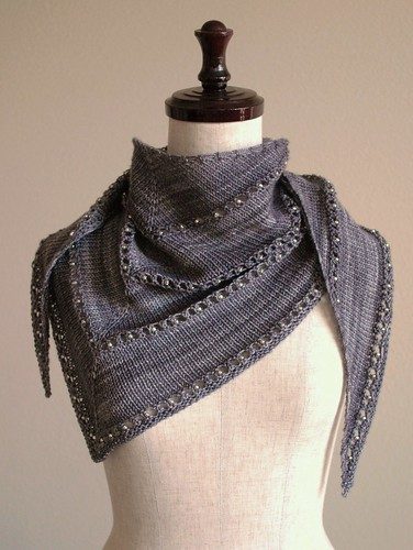 jewel gray kerchief