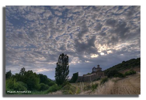 sunset atardecer nikon paisaje nubes ermita d300 románico nikon1755 valdorba catalain txapardia12