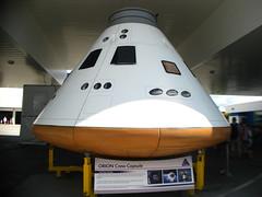 Orion Crew Capsule Mockup