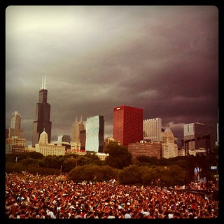 The Storm of Lollapalooza '11