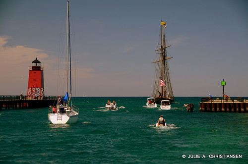 Sailing in Charlevoix...........