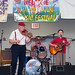 Terry Huval, honoree at the 40th annual Mamou Cajun Music Festival, Aug. 6, 2011
