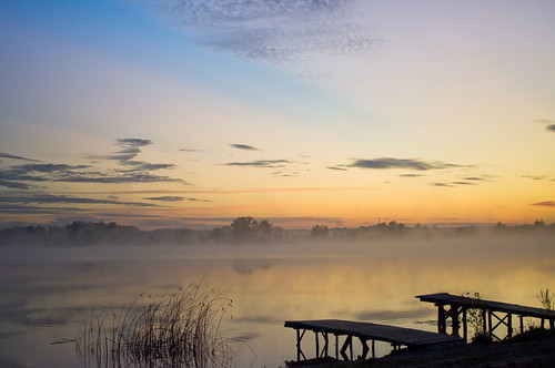 lake fog sunrise 35mm al pentax 24 kx soderica