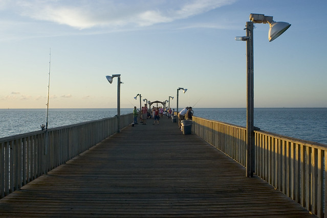Pirates landing fishing pier flickr photo sharing for South padre island fishing pier