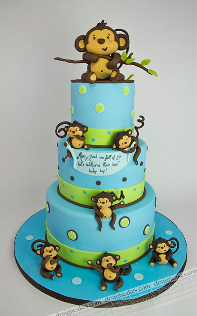 baby monkey cake flickr photo sharing