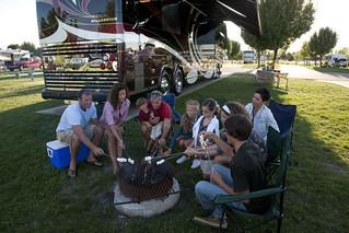 Enjoying a Motorcoach Resort