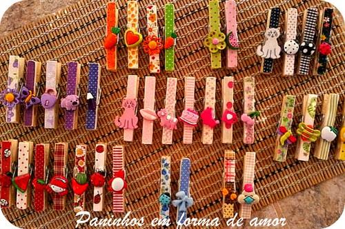 prendedores... by ♥Paninhos em forma de amor♥