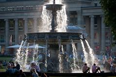 Brunnen auf dem Schlossplatz