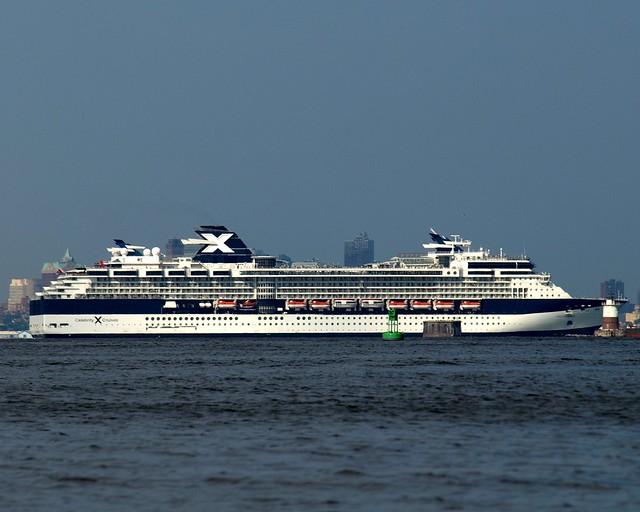 celebrity summit cruise ship new york harbor flickr